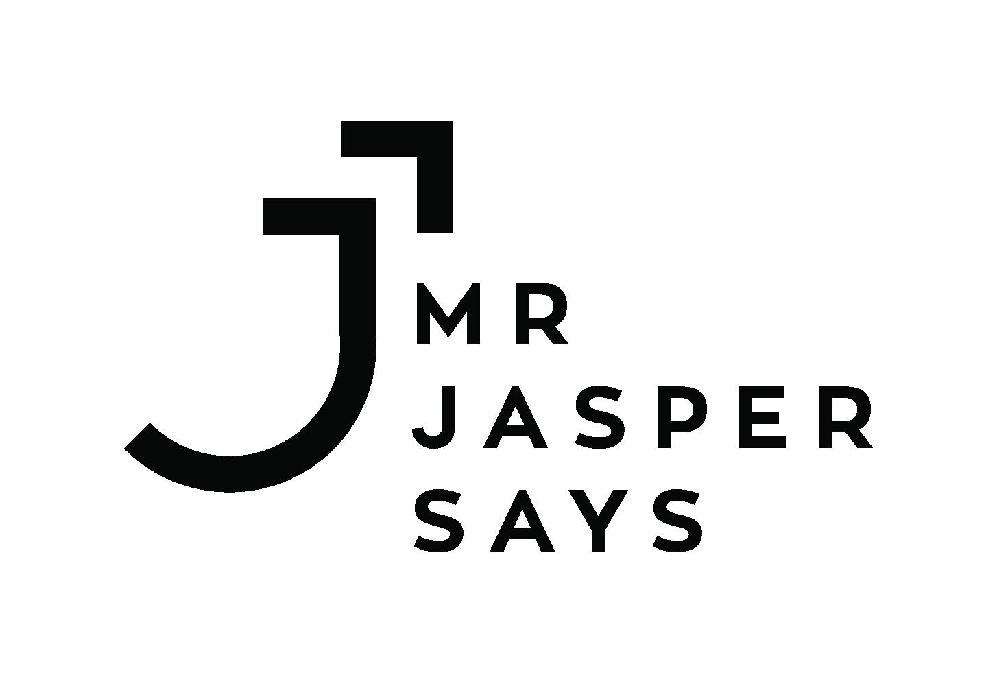 Mr Jasper Says Logo